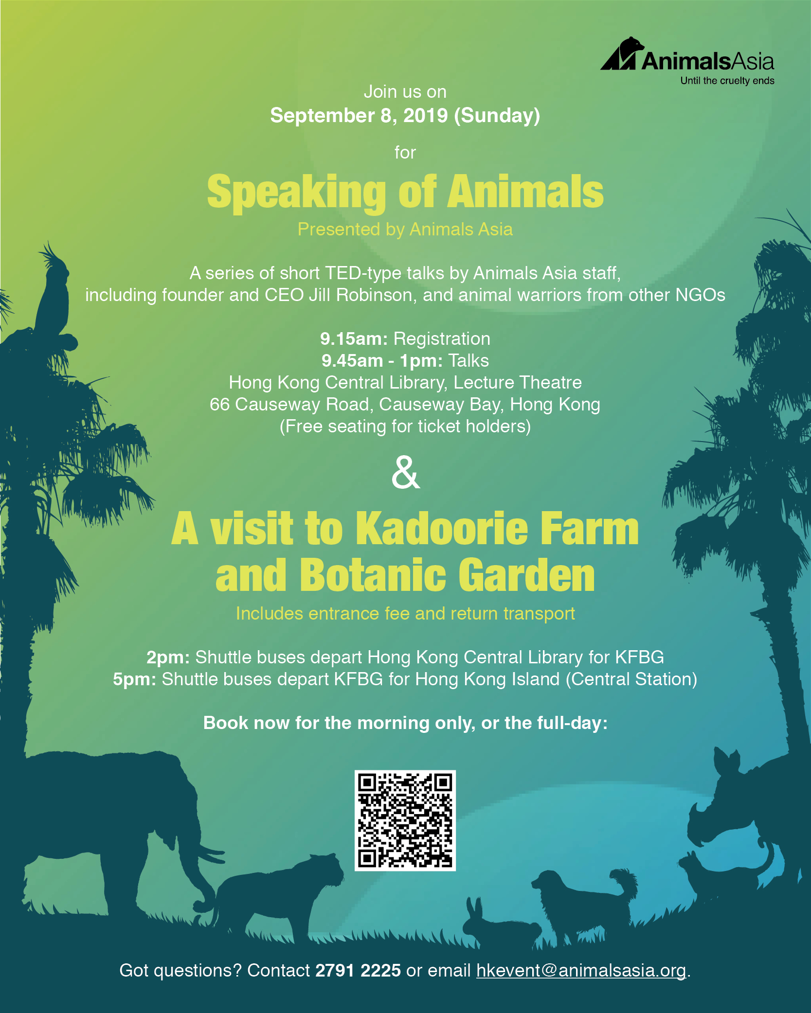 Speaking of Animals presented by Animals Asia