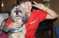 "These two ""Dr Dogs"" have taught thousands in China that they're friends, not food"