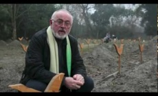 Peter Egan at Animals Asia's bear sanctuary in Chengdu, China