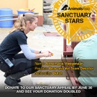 "SANCTUARY STARS: ""I'll miss the bears playing in the sunshine and the most dedicated team I have ever worked with."""