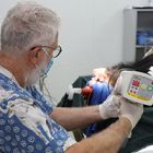 Dental specialist visits VBRC to treat resident bears