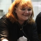 Lesley Nicol takes bear love to the next level as member of cartoon cast