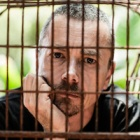Chef caged on Valentine's Day to promote moon bear freedom