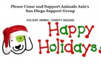 Animals Asia - Holiday Animal Charity Bazaar, San Diego!